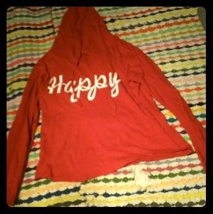 Women's Happy Hooded Tee